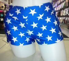 Wonder Woman Women's Costume Cosplay Shorts Blue