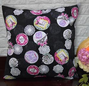 Pillow Cover*Modern Cotton Canvas Sofa Seat Pad Cushion Case Custom Size*AL1