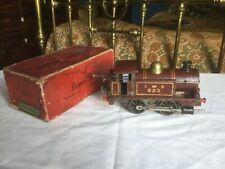 Early Pre-War Hornby Series 0 Gauge Red 623 Locomotive Working