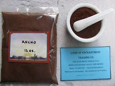 NEW MEXICO PURE ANCHO CHILE POWDER  12 OUNCES  Fresh!!!  *Free Shipping for USA*