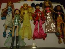 "WINX LOT DE 6 POUPEES"" DANCE NIGHT "" + 2 TENUES FASHION SUPPLEMENTAIRES"