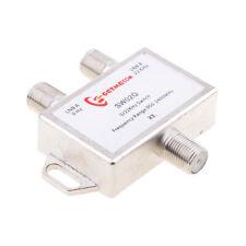 2 Way DiSEqC Satellite Dish Multi LNB Switch 0/22KHz- 2 Inputs and 1 Output