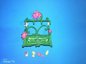 Disney Greenhouse Cart plant stand 2009 Playmate Toys Inc. Doll furniture