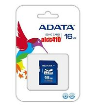 Genuine Adata 16GB 16G GB SD SDHC HC Memory Card Class 6 C6 Retail