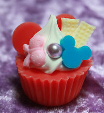 "Doll Size Mini cake Cupcake dessert SD  MSD Dollfie BJD 18"" American Girl Red 25"