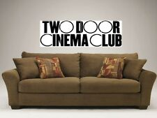 "TWO DOOR CINEMA CLUB MOSAIC 48""X16"" WALL POSTER Alex Trimble"