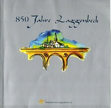 Laggenbeck 850 Jahre Ibbenburen Germany Photo History Sites Bios 1150-2000 Ger