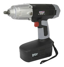 """Sealey Tools CP2450 24V Volt Cordless Impact Wrench 1/2"""" Drive 550nm Ex Display"""
