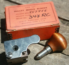 Ancien moule à balle Lyman / Ideal 557456 HB Minié - Vintage 54 bullet mold