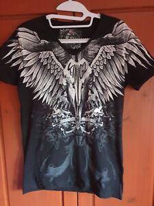 Neuwertiges Shirt mit Glitzer von KINGZ Gr.L