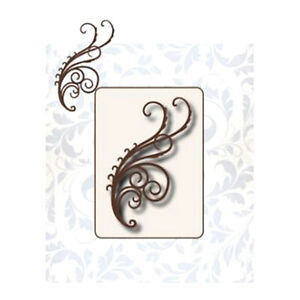 CUTTING DIES 1 MATRICE DECOUPE ARABESQUE TOURBILLON SCRAPBOOKING ALBUM CARD