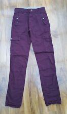 MINI BODEN BOYS cotton cargo trousers. size 9-10 yrs.BRAND NEW. Adjustable waist