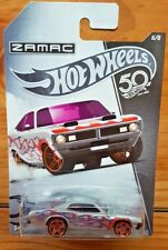 Hot Wheels 2018 50TH ANNIVERSARY ZAMAC 6/8 '71 Dodge Demon (A+/A+)