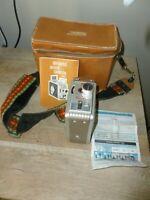 Kodak: Brownie 8mm Movie Camera II With Case & brochures - Free Shipping!