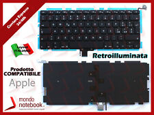 "Tastiera keyboard APPLE Macbook Pro 13"" Mid 2012 A1278 Italiana Retroilluminata"