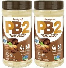 PB2 - Bell Plantation Powdered Chocolate Peanut Butter 6.5oz (pack of 2)