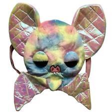 Rainbow Bat Plush Backpack Grey Kreepsville 666 Sugarfueled