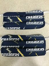 Face Mask / Protection - San Diego Chargers - NFL - Set of 2 - Washable - Reuse