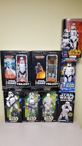 1:6 Star Wars - Action Figure Lot of 8 - Stormtroopers, AT-AT Pilot etc.