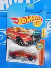 Hot Wheels 2017 Factory Set HW Digital Circuit 1/5 Rally Cat CHASE Mtflk Red