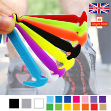 Elastic Shoe Laces No Tie Silicone Rubber shoelaces trainers shoes Adults & Kids