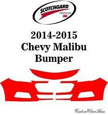 3M Scotchgard Paint Protection Film Clear Bra Pre-Cut Kit 2014 2015 Chevy Malibu