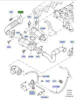 LAND ROVER GENUINE TUBE EXHAUST GAS RECIRCULATION- Range Rover (L322) -WAP000270