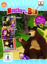 Mascha und der Bär - Mascha und der Bär. Tl.2, 3 DVDs