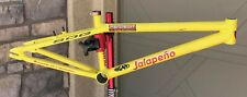 Old School BMX Jalapeño Cruiser frame Team Issue Jersey and Number Plate