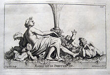 FRÜHLING ALLEGORIE FLORA FLORE S.THOMASSIN 1694 PRINTEMPS SPRING SONNENWENDE