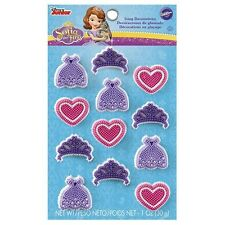 Sophia the First Icing Decorations 12 ct from Wilton 2034 - NEW