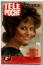 ▬►Télé Poche 592 (1977) CLAUDIA CARDINALE_JOSÉPHINE CHAPLIN_MICHEL SAPPA NICE