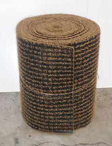 Mulchmatte, 12,5m x 0,60m, Biomatte,  Mulchfolie, Kokosmatte, Anti-Unkrautvlies