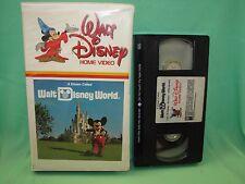 A Dream Called Walt Disney World Vintage Clamshell Home VHS Video 35V 35 V