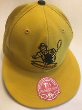 NFL Pittsburgh Steelers Mitchell & Ness Vintage Fitted 7-1/8 Yellow Hat Cap