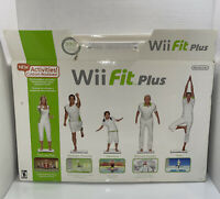 Nintendo Wii Fit Plus with Balance Board Brand New Open Box. Ships Fast!