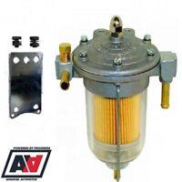 Malpassi Filter King Pressure Regulator 85mm Transparent Bowl 8mm Hose Tails ADV