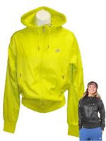 New NIKE Sportswear NSW Women's Windrunner Jacket Lime Zest XS
