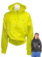New NIKE Sportswear NSW Women's Windrunner Jacket Lime Zest XS
