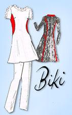 1970s Original Vintage Spadea Designer Pattern 71280 Uncut Misses Tunic Dress 31