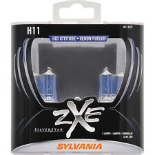 2-PK SYLVANIA H11 SilverStar zXe High Performance Halogen Headlight Bulb