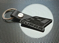 Seat Leon CUPRA 290 R BLACK Leather Keyring Keychain St GT Turbo 2.0 Sport