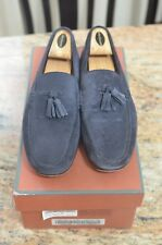 LORO PIANA ROADSTER WALK SUEDE NAVY SIZE 44EU 11US 10UK MADE IN ITALY