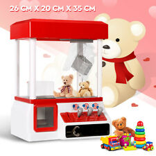 Carnival Style Vending Arcade Claw Candy Grabber Prize Machine Game Toy