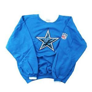 Dallas Cowboys Big Star Football Sweater Starter Sz L