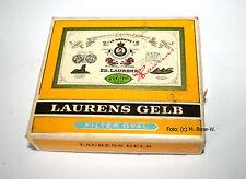 Ed. Laurenz amarillo para 1960 20 cigaretten parte relleno cartón en bremen fabricado