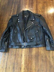 Xelement Leather Motorcycle Jacket size 46