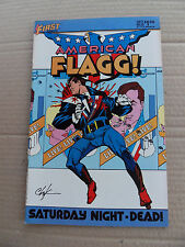 American Flagg ! 25. Alan Moore - First 1985 - VF