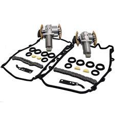 Left + Right Fit For AUDI 4.2L V8 Timing Chain Tensioner Gasket Set Kit -- Pair