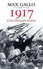 1917  une passion russe Gallo  Max Occasion Livre